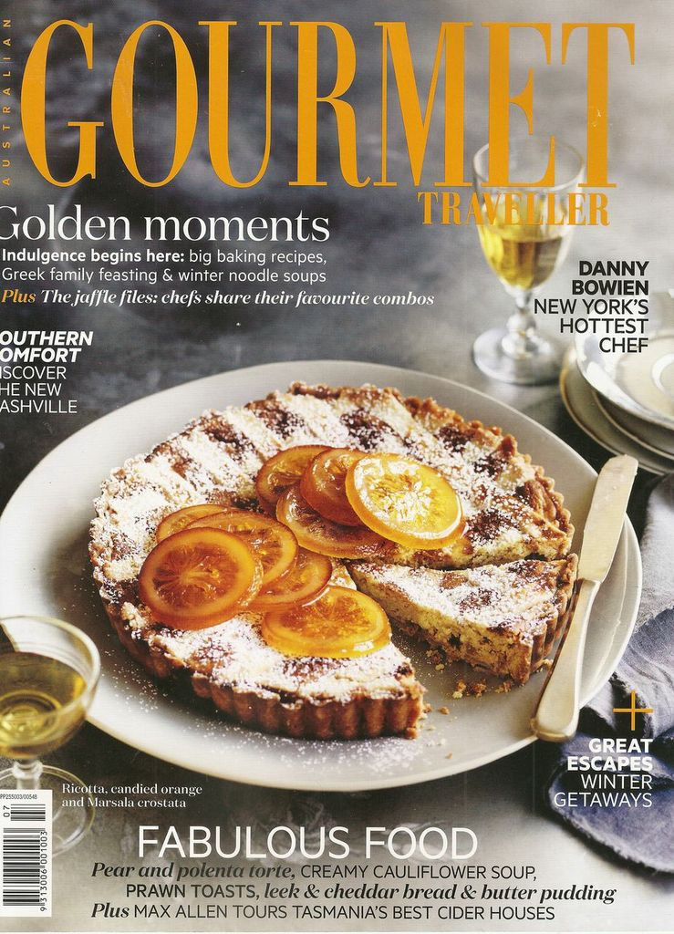 Gourmet Traveller July 2013